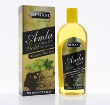 Hemani Amla Hair Oil Gold 200ml (Complete Hair Care). US Seller (Free Shipping)