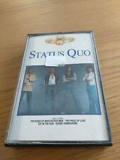 STATUS QUO - A GOLDEN HOUR OF - 21 TRACK CASSETE ALBUM.