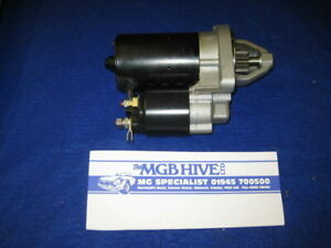MG NEW STARTER MOTOR PRE ENGAGED MGB 1968 to 1980 4 SYNCRO