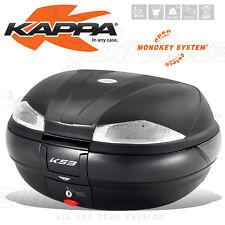 BAULETTO VALIGIA KAPPA K53N K53 TECH 53 LT = GIVI E55 NERO MONOKEY MOTO SCOOTER