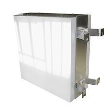 Leuchtreklame 600 x 600 Nasenschild mit LED Leuchtkasten Hauben Digitaldruck