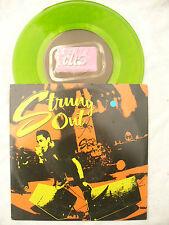 STRUNG OUT  DIG / LOST MOTEL fat club N/M green vinyl 45rpm