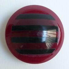 Bouton ancien - Parurier - Galalithe - 42 mm - Vintage Button
