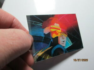 1996 MARVEL MOTION - BASE CARD - ( 4 ) CYCLOPS