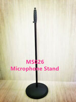 Haze MS026 Microphone Stand Round Base Height Adjust Iron Cast Black