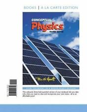 Conceptual Physics, Books a la Carte Edition by Paul G. Hewitt (2014, Ringbound)