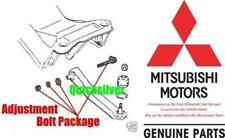 00 05 Mitsubishi Eclipse Rear Control Arm ADJ Bolt Pkg Set of 2 NEW OEM