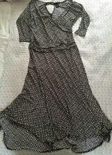 Stunning BCBG MAXAZRIA Monochrome Maxi Dress-size L (14.)