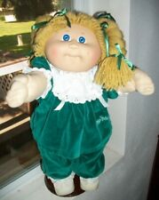 CABBAGE PATCH KIDS 1985 HM3 GIRL BLUE EYES DIMPLE VTG OUTFIT SHOES DIAP COLLECT!