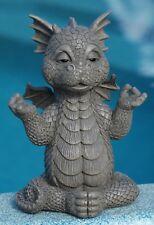 Glücksdrache ca 29cm Figur Gartenfigur Deko Statue Skulptur Fantasy Drache