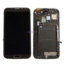 Pantalla LCD Pantalla Táctil Display+Marco Para Samsung Galaxy Note 2 N7100 Gris