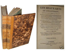 Dallaway Les Beaux-Arts en Angleterre, Collections Londres Oxford...Buisson 1807