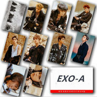 Kpop EXO Don't Mess up My Tempo Photo Card Sticker New Album Sticky Photocard