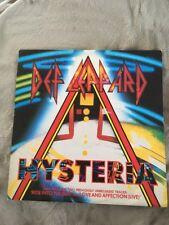 """1987~Def Leppard~HYSTERIA~Vinyl 12"""" Single~Bludgeon Riffola~LEPX 3"""