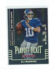 2014 Panini Contenders Playoff Ticket #49 Eli Manning Giants /199
