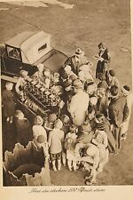 10665 AK Kapitän Limbach erklärt Flugmotor Flugzeuge 1931