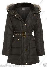 Cappotti e giacche da donna parke neri bottone automatici