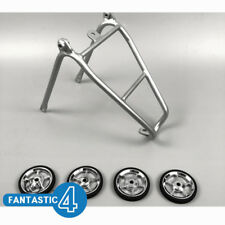 Ace Easy Wheels + Q Type Rear Rack Set for Brompton Bicycle