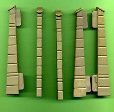 Playmobil -- 3666-ritterburg -- conector-terminales -- 3 unidades-muro - 3667 3888 3665