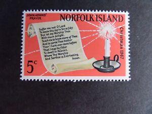 Norfolk Island 1967 Christmas candle SG92 MNH UM unmounted mint