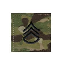 1796 Rothco Official U.S. Made Embroidered Rank Insignia Staff Sergeant Patch
