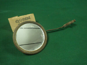 Model T Ford era accessory clamp on rear view mirror