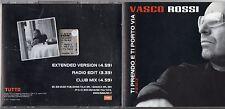VASCO ROSSI CD SINGLE Ti prendo e ti porto via  - Remix MONDADORI Tutto 2001