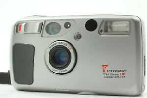 【EXC+5】 Kyocera T Proof Yashica T5 T4 Super Point & Shoot Camera from JAPAN