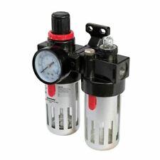 Air Line Filter Regulator Lubricator Tool 0.5-8.5 Bar 150ml Capacity