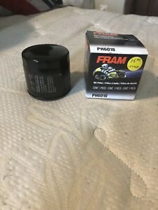 Fram PH6018 Motorcycle Oil Filter fits MANY Arctic Cat Suzuki Aprilia Cycle - B6
