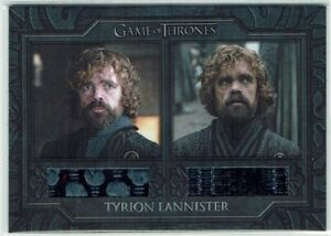 Game of Thrones Complete Series Relic Costume Card DC3 Tyrion Lannister's Jacket
