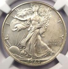 1942 PROOF Walking Liberty Half Dollar 50C - NGC Proof Details (PR/PF) - Rare!