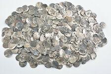 Lot of 457 silver akche coins Ottoman Turkey Islamic 17-19th century AD