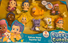 Bubble Guppies Bath Squirters Deluxe Set NEW Bath Toys