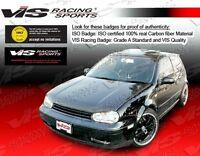 Golf 4 99-05 Volkswagen 2dr/4dr Boser VIS Racing Carbon Fiber Hood 99VWGOF2DBOS-