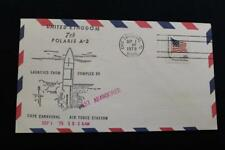 NAVAL COVER 1979 7TH POLARIS MISSILE FIRING TEST ABANDONED UNITED KINGDOM (4475)