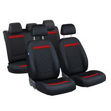 Schwarze Sitzbezüge für FIAT SEDICI Autositzbezug VORNE NUR FAHRERSITZ
