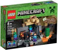 LEGO Minecraft 21119 BNIB the Dungeon BNIB Steve Zombie mine