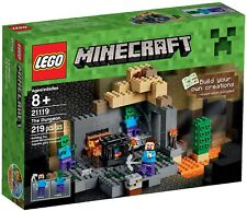 Lego Minecraft 21119 The Dungeon Steve Zombie Mine