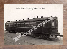 Historic Union Traction Company of Indiana Car 400 1908 Transport Postcard