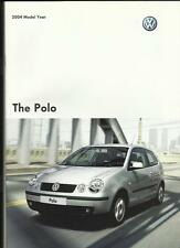 VW VOLKSWAGEN POLO E, S, SE AND SPORT SALES BROCHURE 2003 FOR 2004 MODEL YEAR