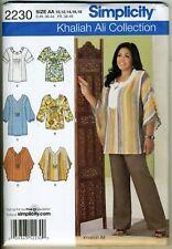Tunics or Tops - Khaliah Ali - Pattern Sizes 10-18