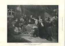 1892 Trial Queen Katherine Henry Viii Gh Harlow Sir George Biddell Airy