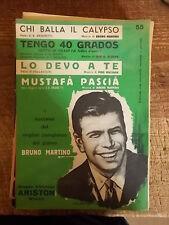 """Sheet music Martino """"Who Dance The Calypso"""" +"""" I 40 grados"""" + """"I got you"""""""