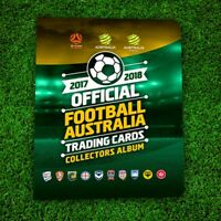 2017 2018 Tap N Play FFA Football Soccer A-League Sealed Album Folder 17/18