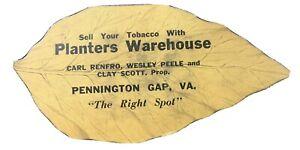 Vintage Sell Your Tobacco Sewing Kit Leaf Adv Planters WHSE Pennington Gap VA