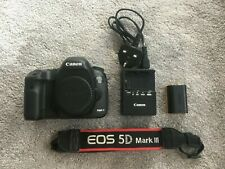 Canon EOS 5D Mark III Digital Camera Body + Strap + Charger + Spare Battery