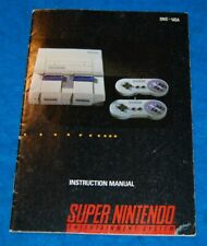 Super Nintendo Entertainment System (SNES) Instruction Manual (Manual Only)
