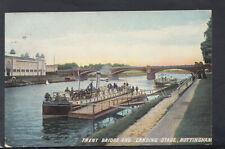 Nottinghamshire Postcard - Trent Bridge and Landing Stage, Nottingham  T8282