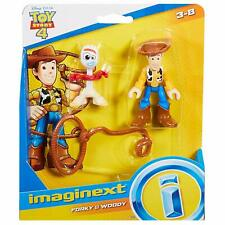 NEW Disney Pixar Toy Story 4 Imaginext Forky & Wood Figure Set
